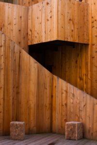 Inicio de curso con madera Vía Ágora
