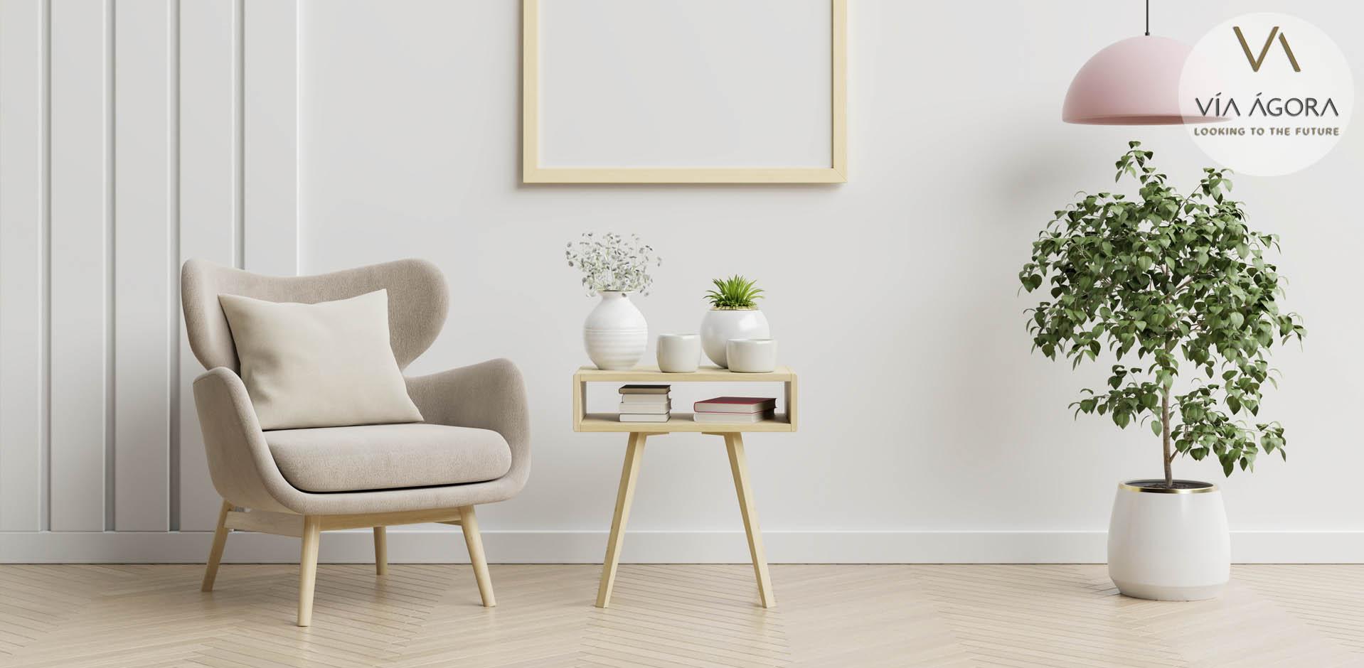 via agora - promotora inmobiliaria - decoración sostenible 2