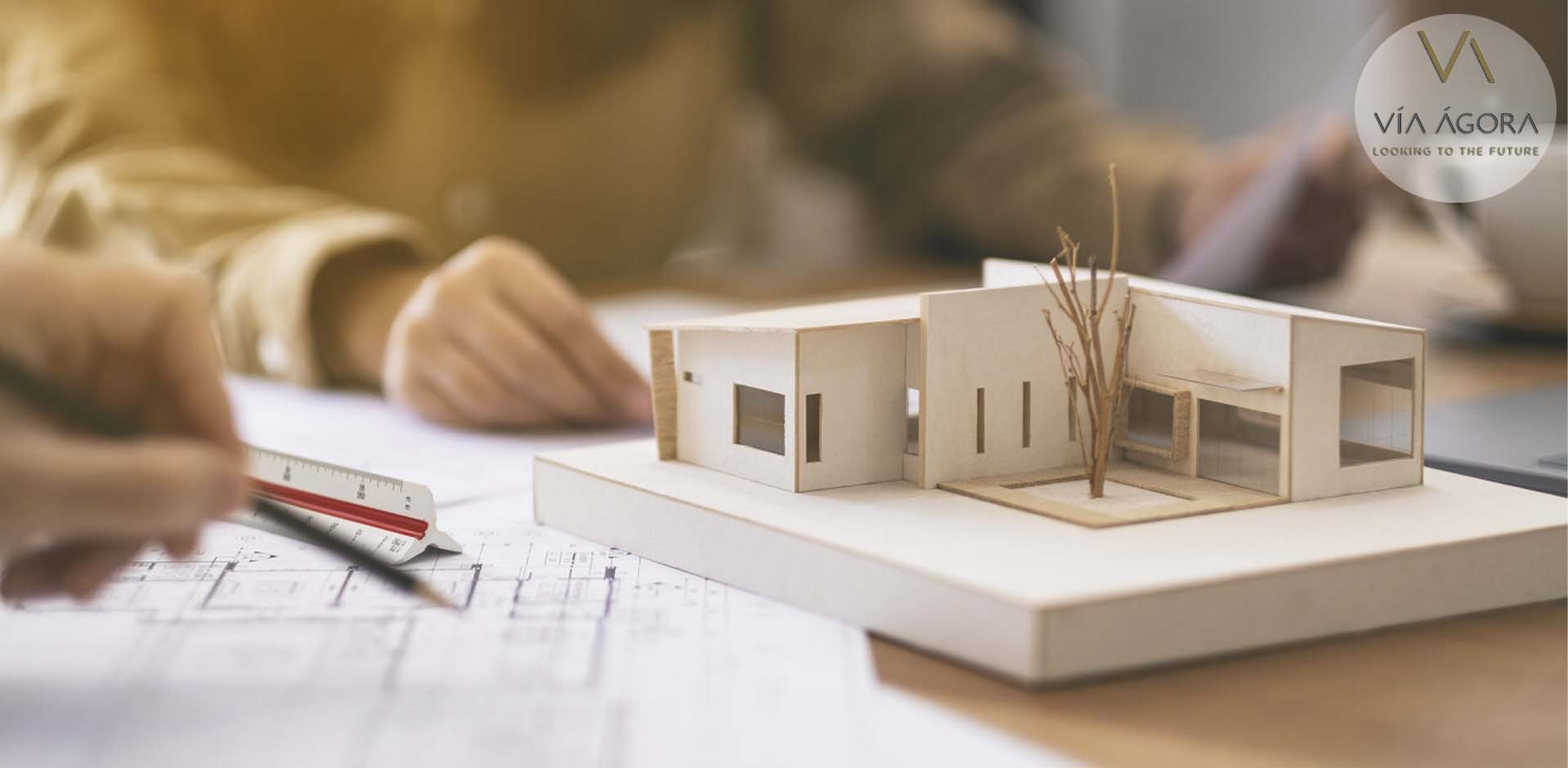 via agora - promotora inmobiliaria - industrializacion viviendas - 2