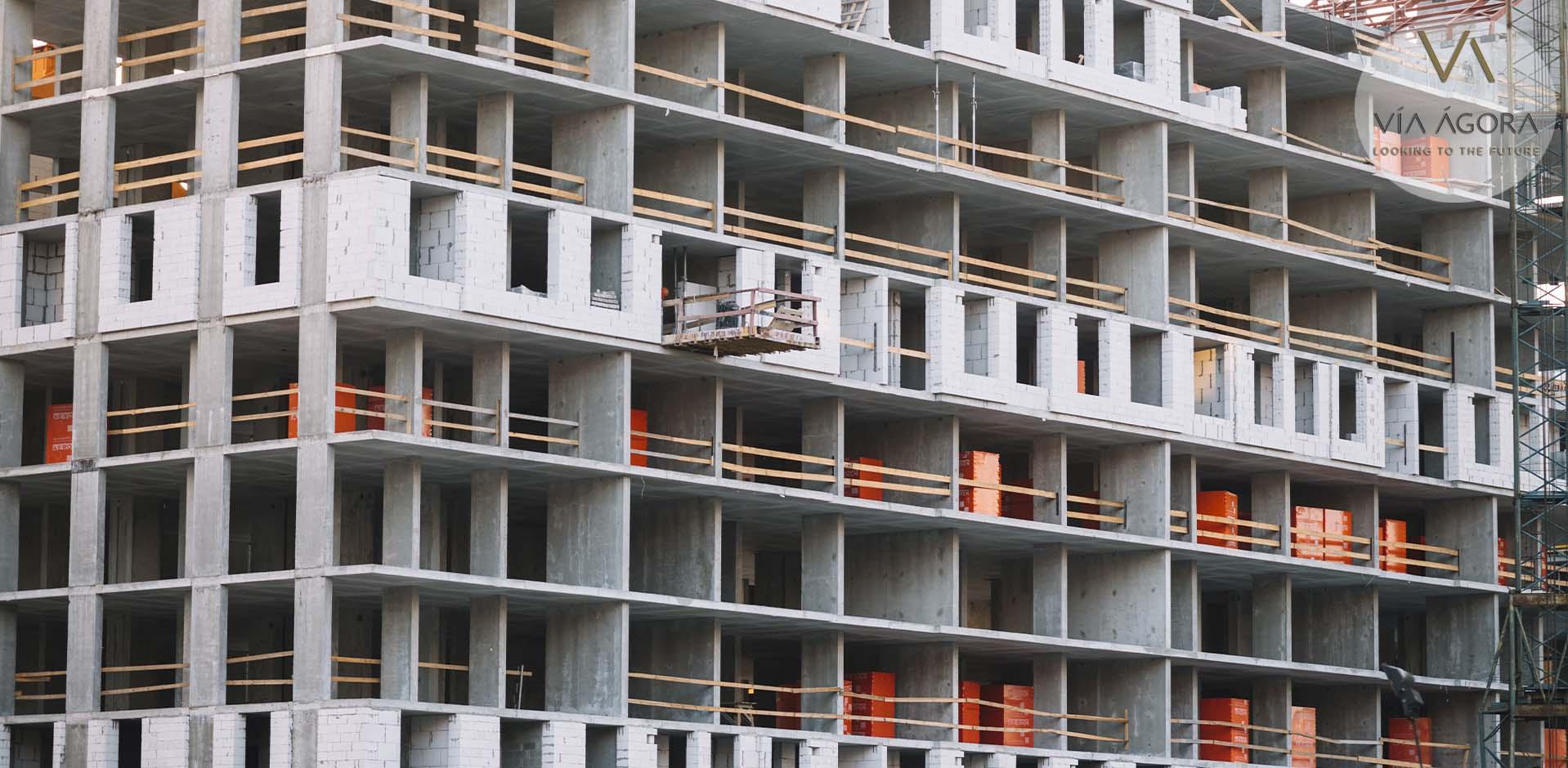 via agora - promotora inmobiliaria - materiales sostenibles