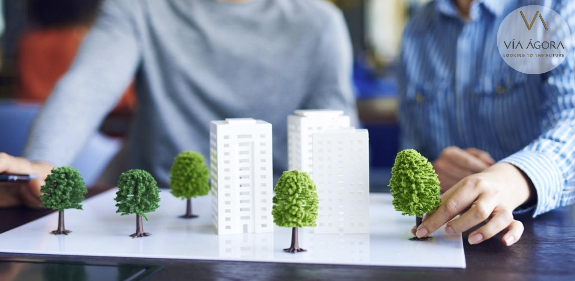 via agora - promotora inmobiliaria - sostenibilidad